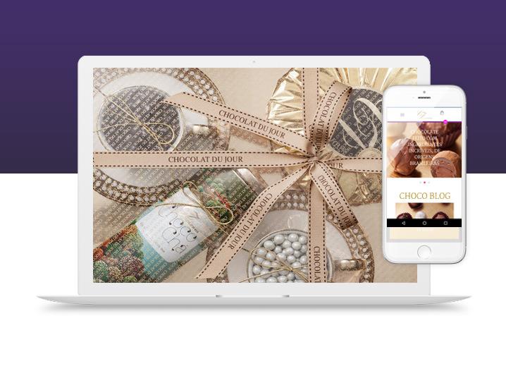 Novo site Chocolat du Jour