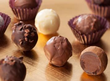 Desvendando a origem das trufas de chocolate
