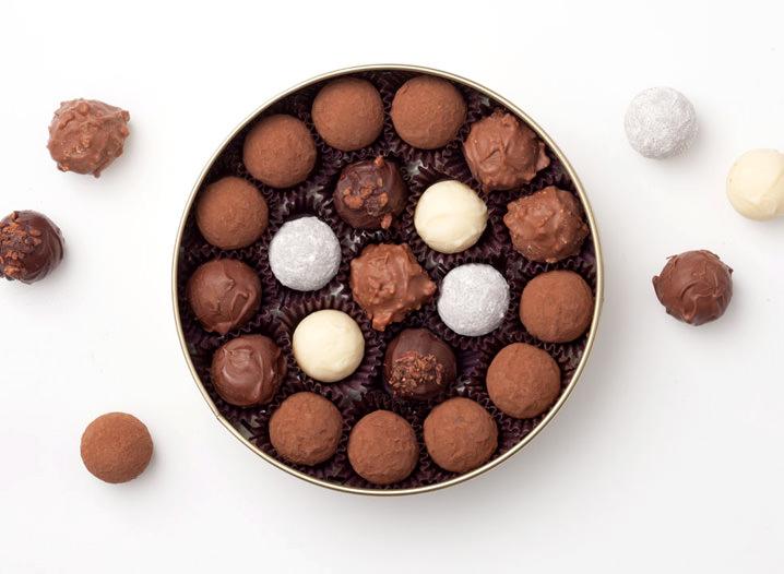 Origem das Trufas de Chocolate