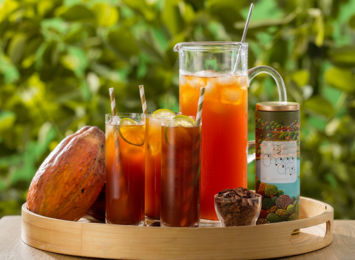 Choco Chá gelado: refrescante e delicioso