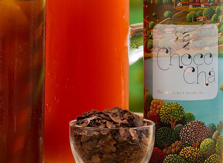 Choco Chá Gelado - infusão de cacau da Chocolat du Jour