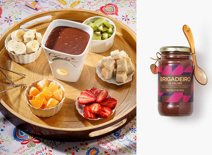 Ideias para Fondue de Chocolate