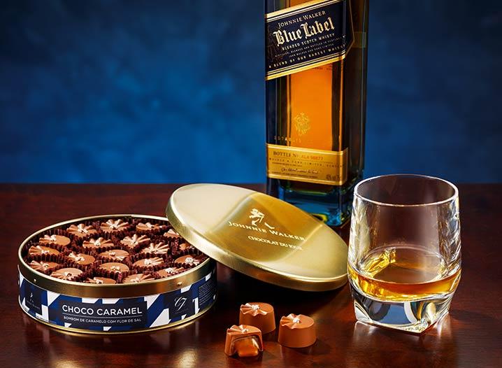 Johnnie Walker e Chocolat du Jour, juntas