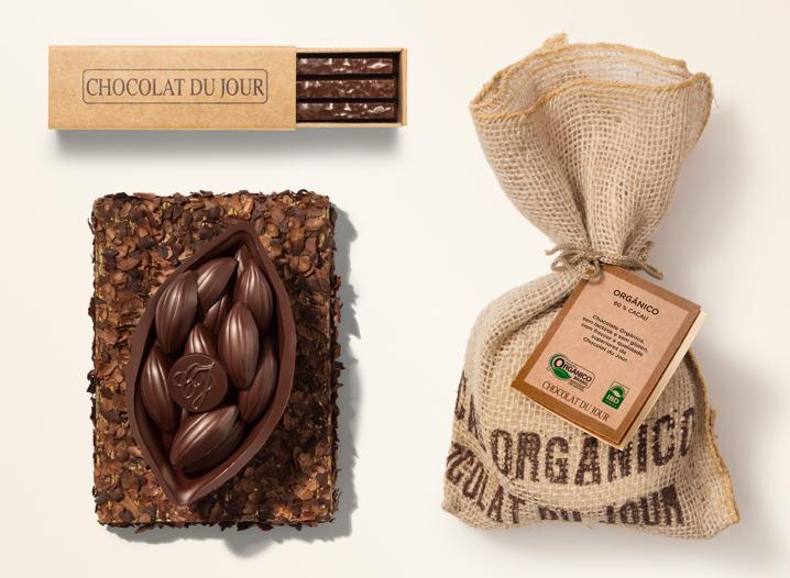 Nova linha Chocolate Orgânico 60%