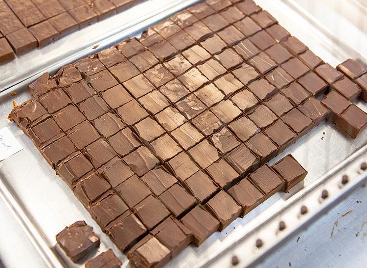 Chef chocolatier Oriol Balaguer na Chocolat du Jour