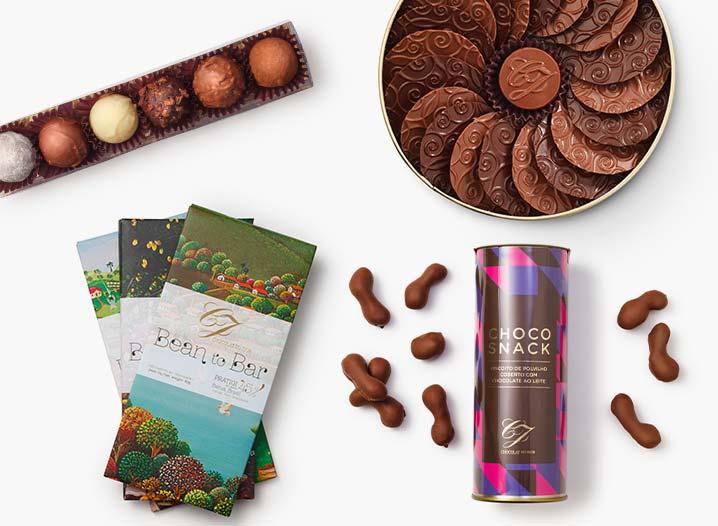 10 criações da Chocolat du Jour