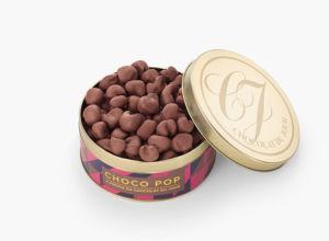 A pipoca de chocolate da Chocolat du Jour