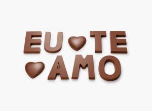 Letras de Chocolate Chocolat du Jour