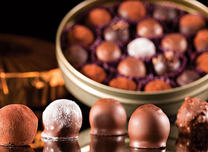 O poder da verdadeira trufa de chocolate